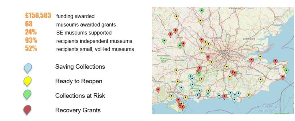 SEMDP Funding Map